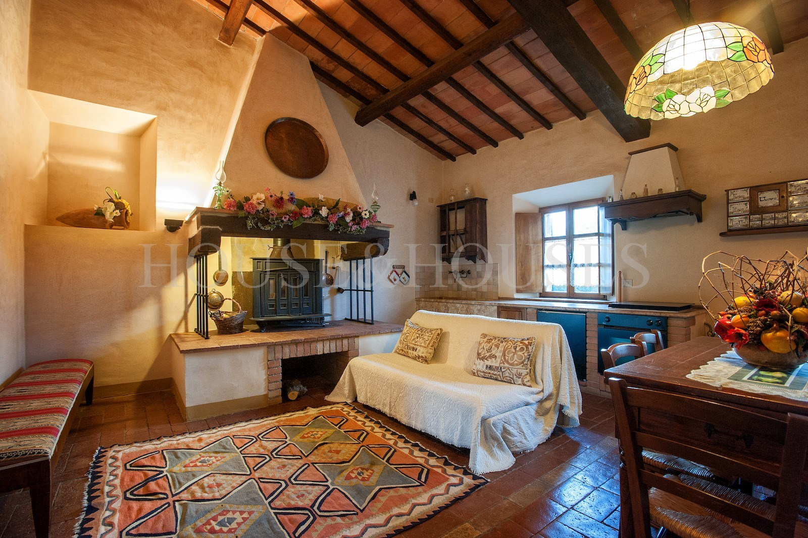Toscana siena castiglione d 39 orcia casale con piscina in for Toscana house