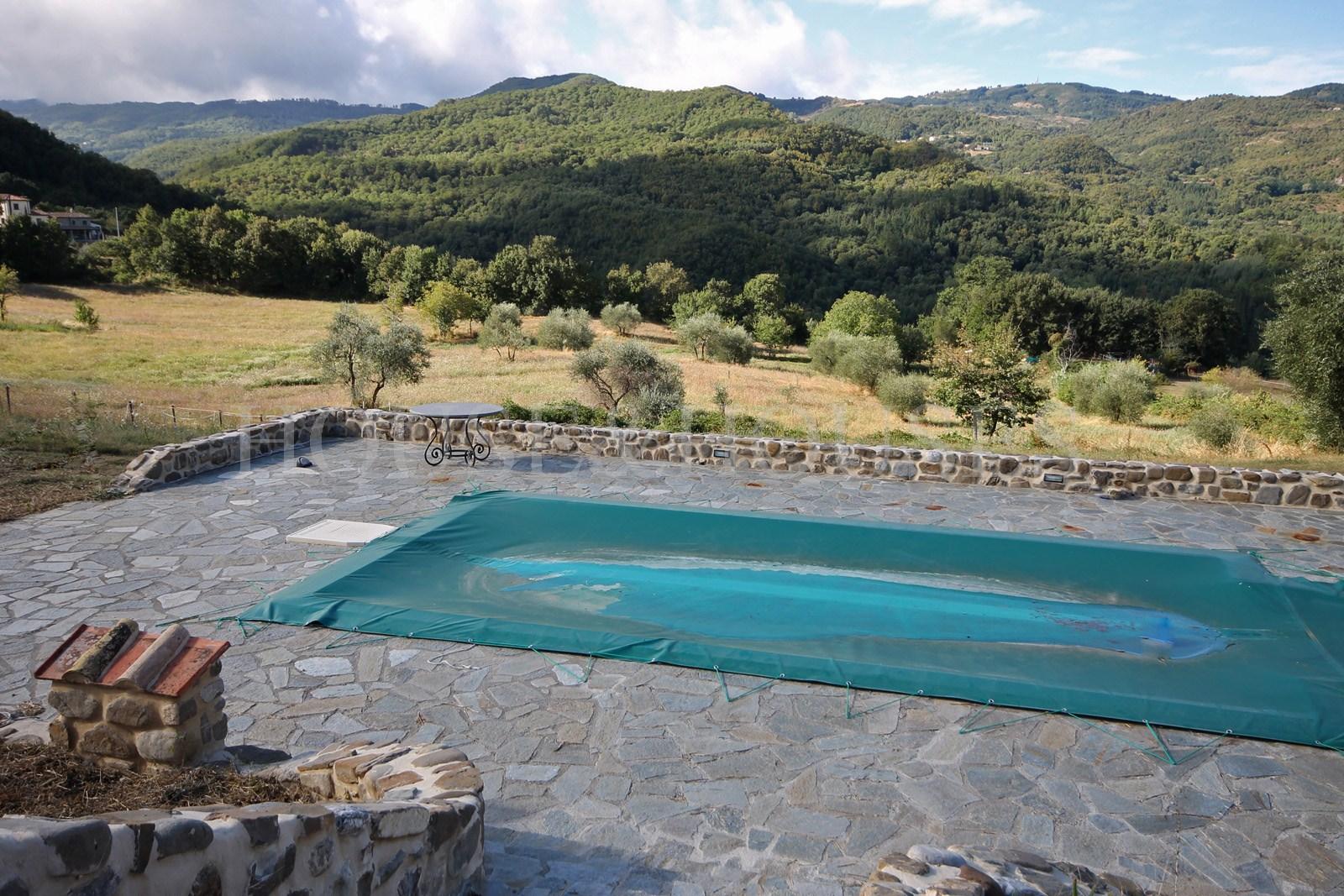 Toscana grosseto arcidosso villa con piscina in vendita house and houses italia - Piscine in toscana ...