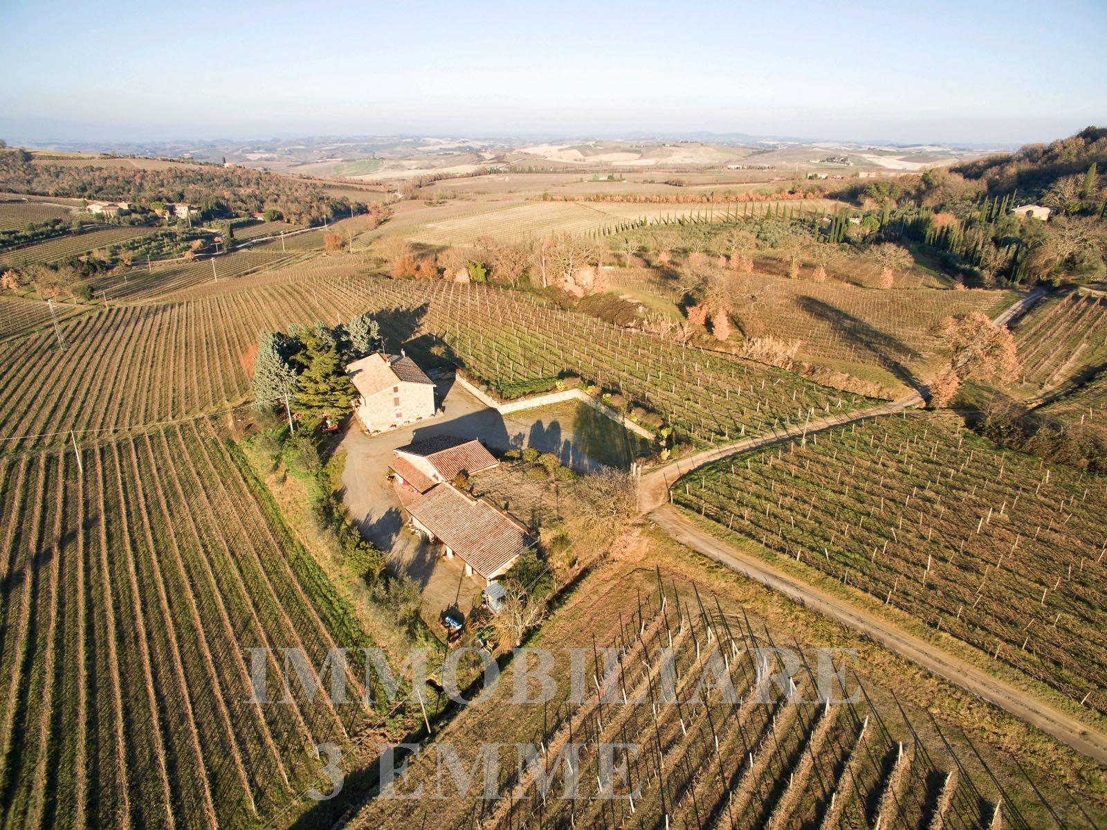 Tuscany, selling winery of Brunello di Montalcino -Az.219